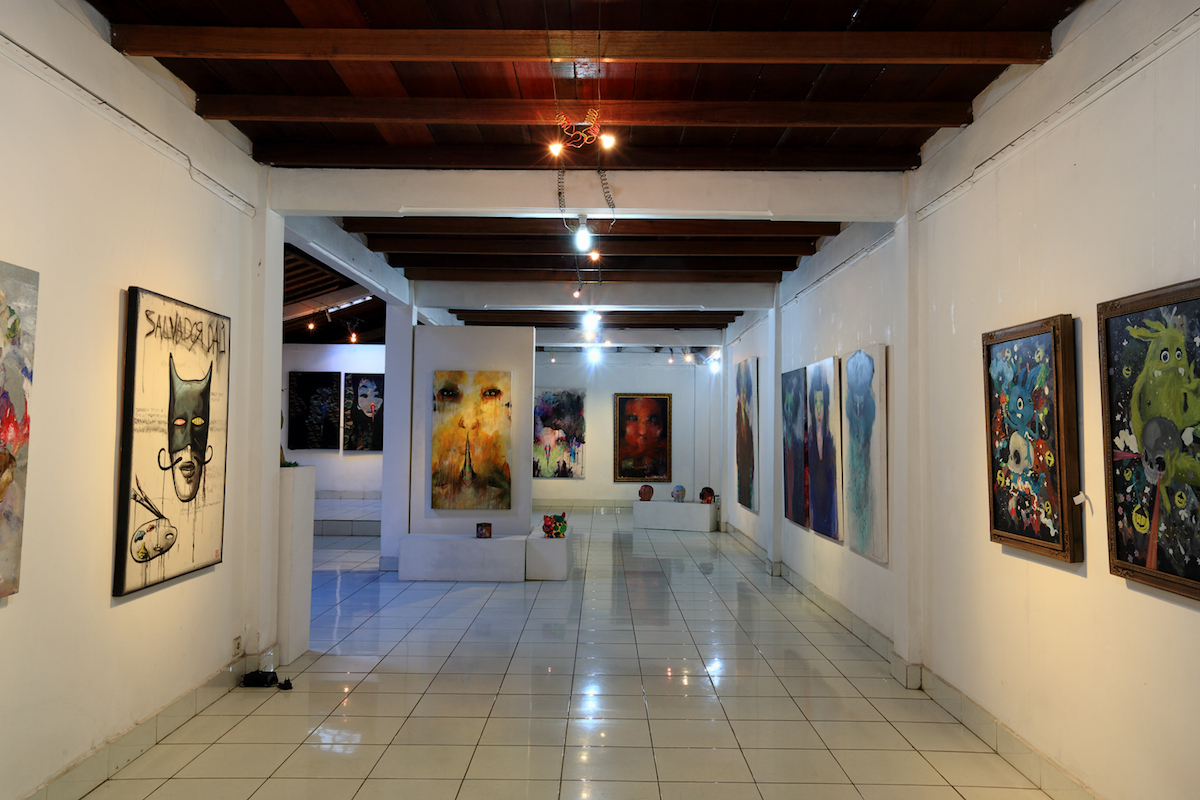 Focusing on temporary exhibitions and the promotion of contemporary Indonesia fine art, Sika Gallery