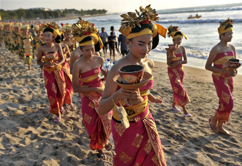 The first 'Kuta Karnival - A Celebration of Life' festival kicked off in 2003, the year