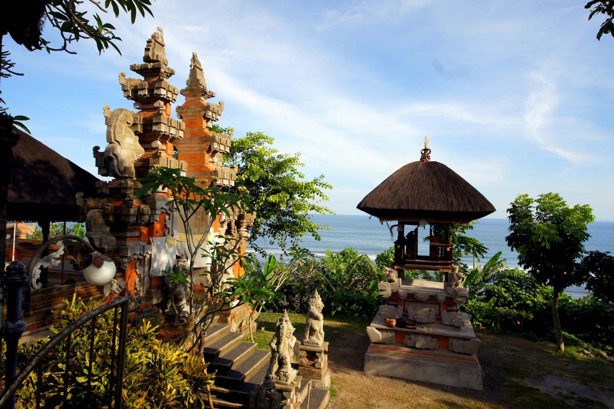 One of Bali's many temples that recognize miraculous events in the life of Danghyang Nirartha,