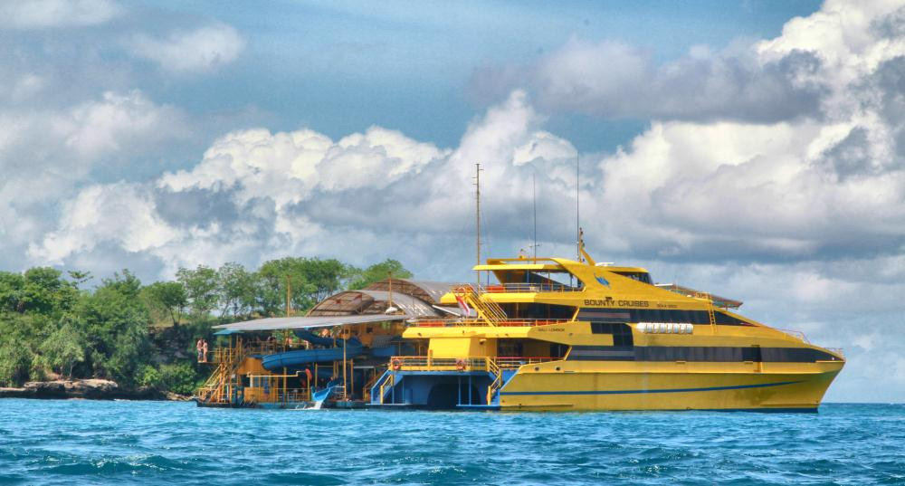 There are a variety of day cruises from Bali to Nusa Lembongan and Penida that offer a variety of ve