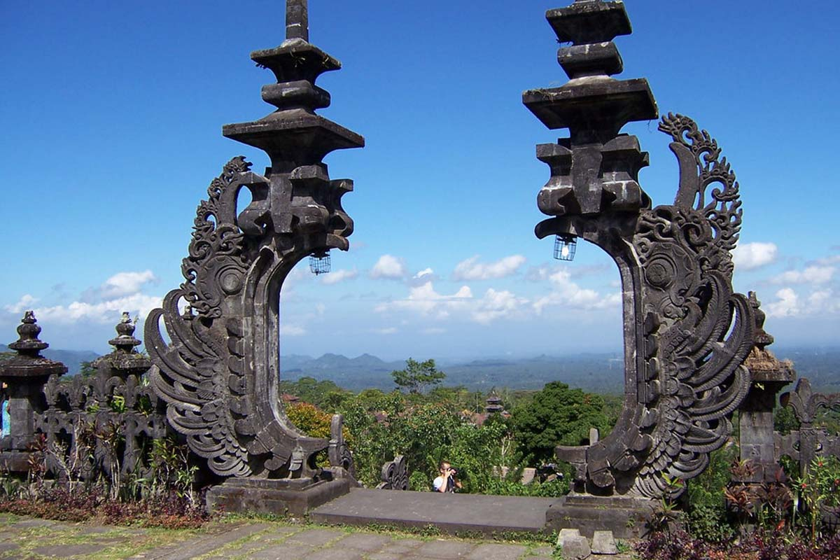 Perched nearly a thousand meters up the side of Mount Agung, Pura Besakih is the 'Mother Templ