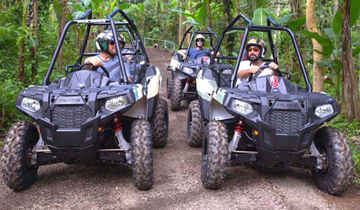 BOOK ONE DAY BEFORE !!!Start your engines and get ready to embark on a journey into the jungle to experience Bali's first and only 'purpose-built ATV track'. This thrilling new cours