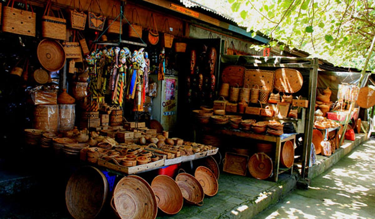 Tenganan is not a market, per se; however, this unique village is renowned for its beautiful woven