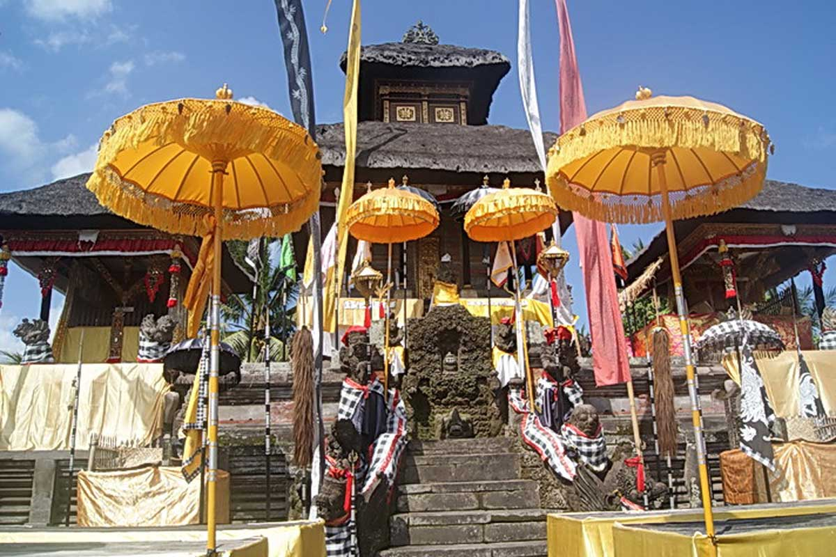 Every temple in Bali has a historical legacy in the form of statues, pelinggih and the temple buildi