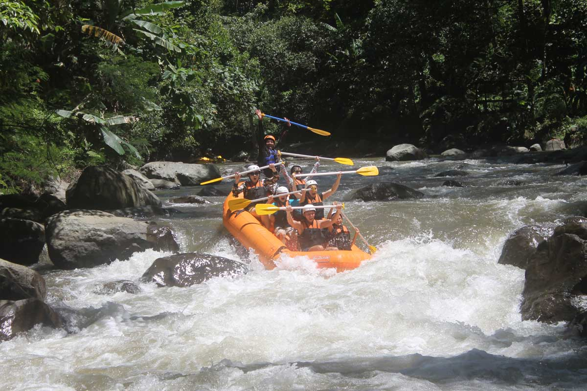 BOOK ONE DAY BEFORE!!!Pick Up UbudBali Rafting is one of kind adventure you can enjoy while in Bali. For more than a dozen years, Ayung River rafting is known as the best rafting in Bali and