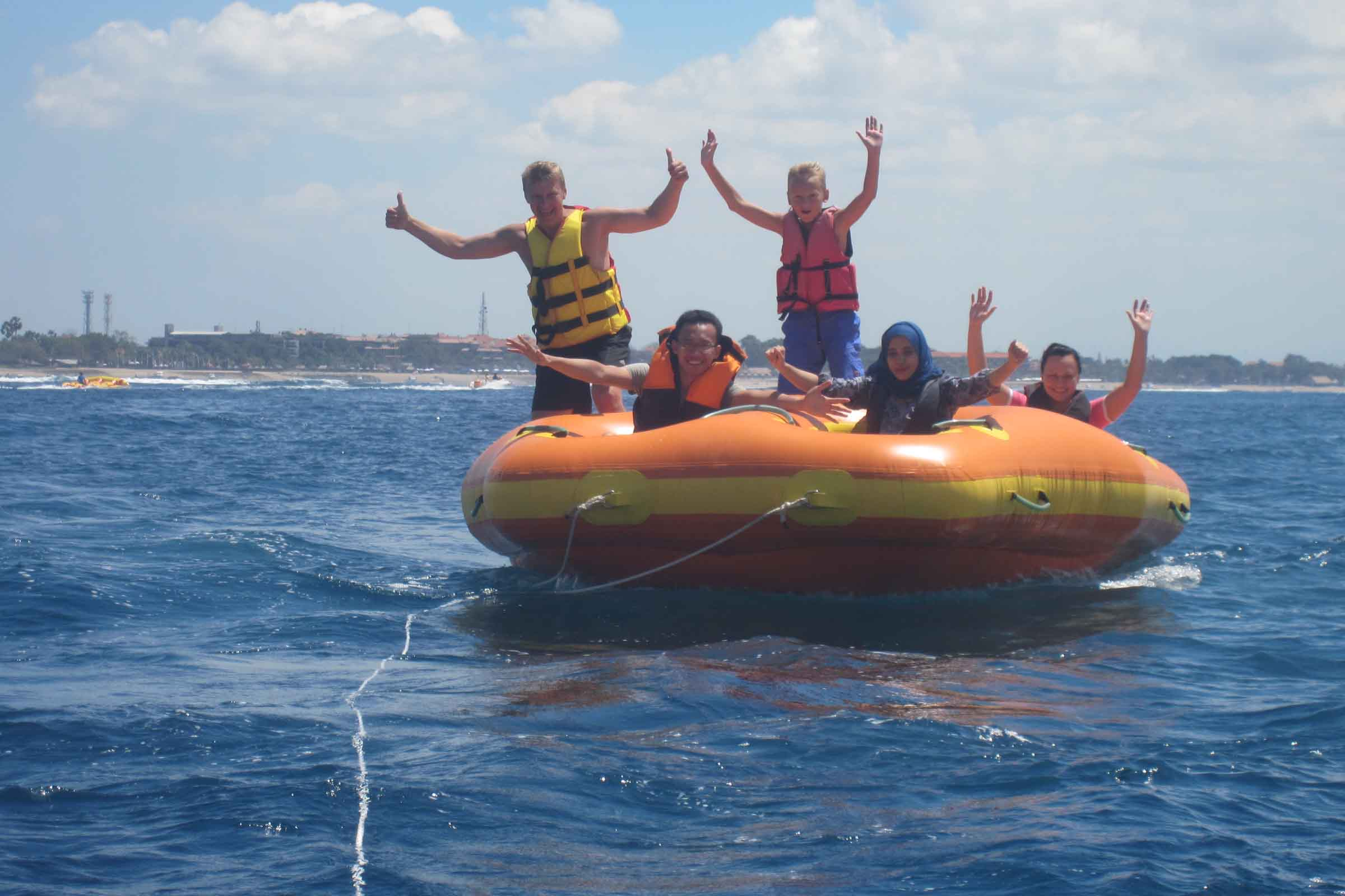BOOK ONE DAY BEFORE!!!Min - 2 Pax - (15 minutes)TubingAs with anything involving water, high speeds and heady thrills, safety is of primary concern, and the popular water sport of tubing is certainly