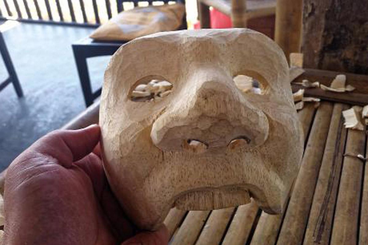 WS Ar Stu - Mask Carving Class (3 Hours) - Min 2 Pax
