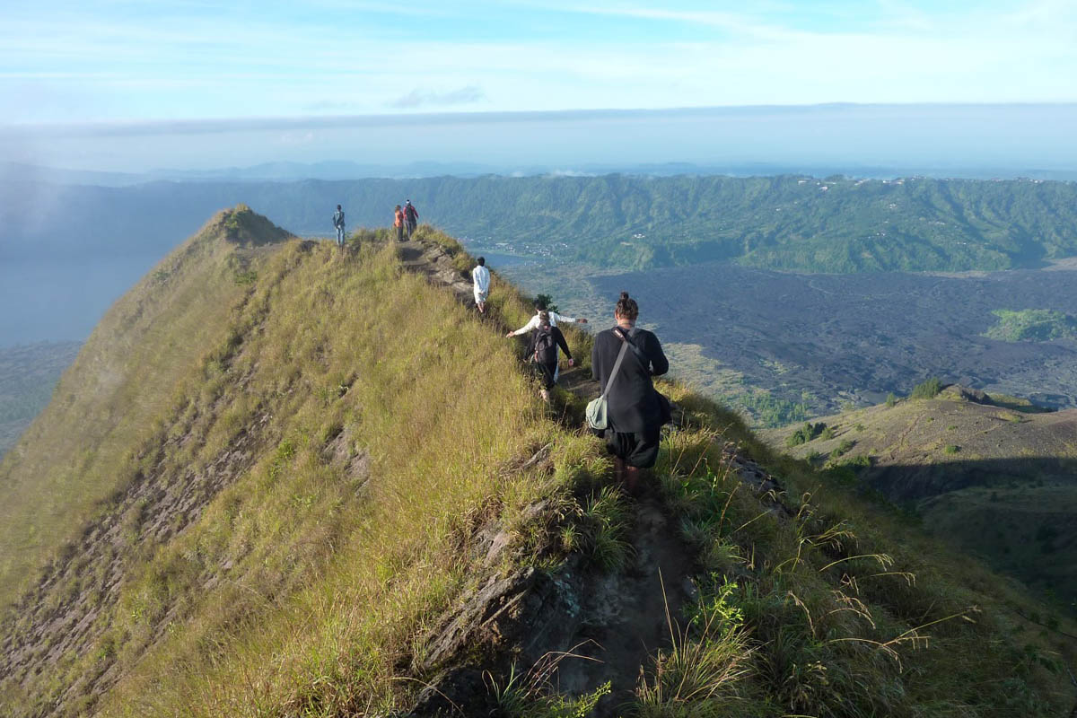 Gunung Agung - Bali's highest volcano can be scaled in a night and a day - you'll want to depart aro