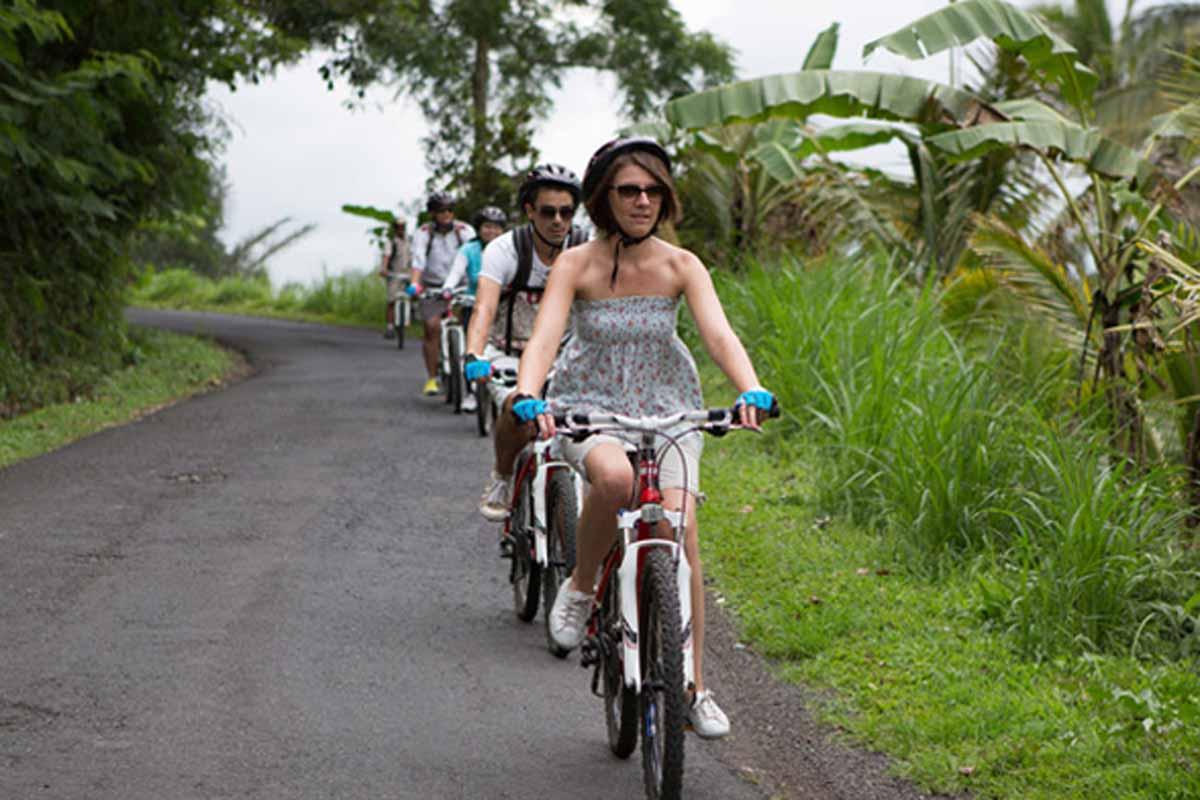 BOOK ONE DAY BEFOREPick Up (Ubud, Sanur, Kuta, Nusa Dua/ Jimbaran/ Canggu)Min - 3 PaxCycling  Back to village, Our cycling start at kintamani village with fresh weather make your journey h