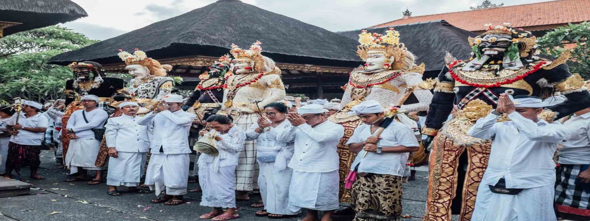 "Procession ""NGUNYA"" Ceremony at Desa Pekraman Ubud, December 1st , 2016 and December 16, 2016"