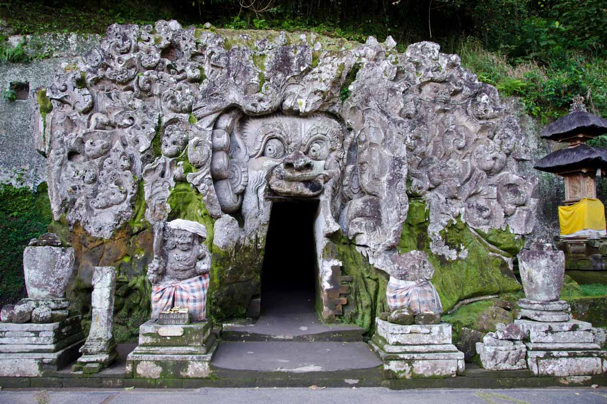 Most probably the oldest excavated relic of ancient Balinese art, Goa Gajah is a complex that date