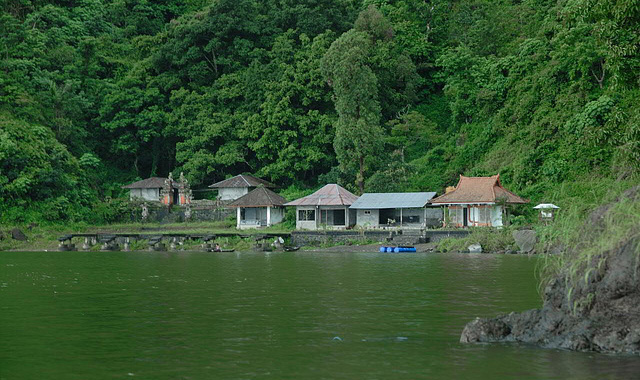 Accessible only by boat via the volcanic Lake Batur, Trunyan is an isolated village that is home to