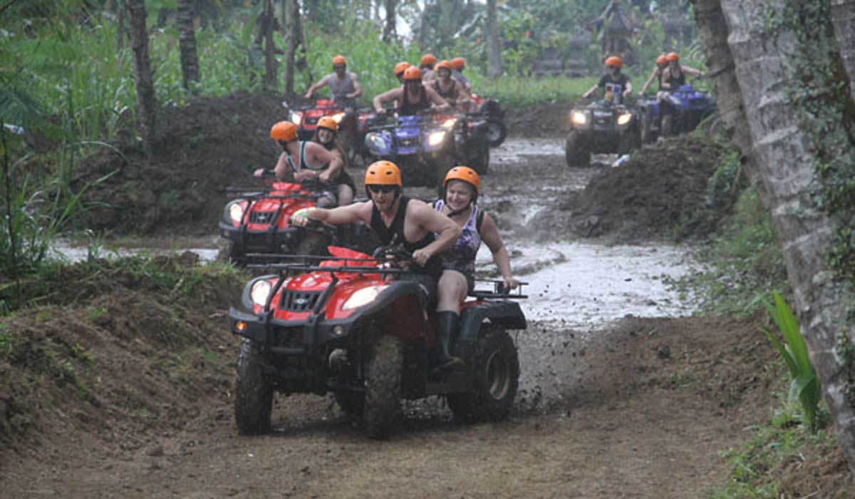 BOOK ONE DAY BEFORE!!!Pick Up Ubud, Kuta/ Legian, Sanur, AreaATV ( Tandem )SUR ADVENTURE introduces to you Bali at its rustic natural best. BACK TO NATURE AND LET'S HAVE FUN is our motto - to st