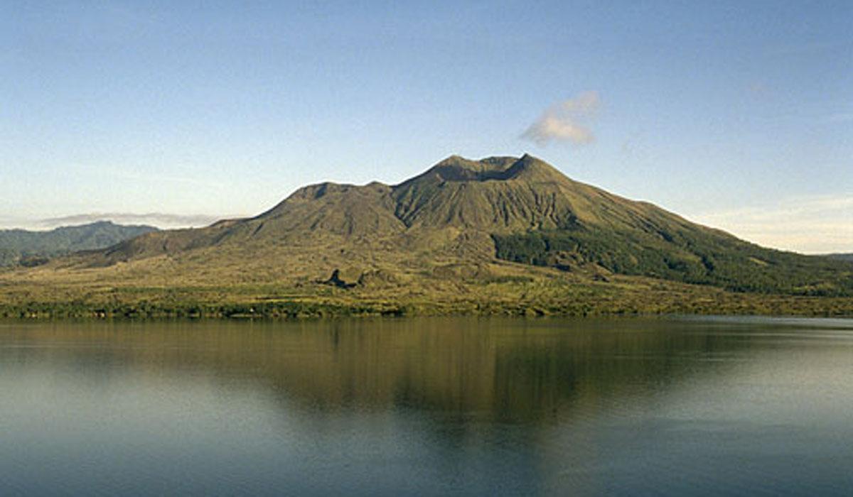 Located in the northeastern Bangli Regency, the strato-volcano Gunung Batur is Bali's second m