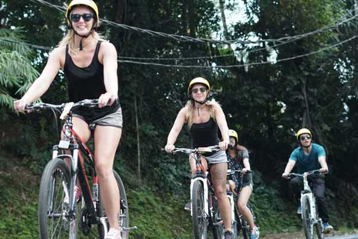 BOOK ONE DAY BEFORE!!! Pick Up (Ubud, Sanur, Canggu,Kuta , Nusa Dua Area) Min 2 PaxCycling is the usual thing you do in your neighborhood, but we provide other, more challenging cycling experiences,