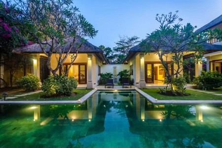 Villa Cemara is a lovely three bedroom oasis nestled in a quiet  locale in Seminyak, yet offering yo