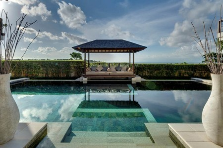 Just a stone's throw from some of Bali's best beaches, Villa Jamalu sits perched high on