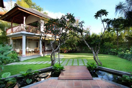 Villa Ali Agung is located in the south  west of Bali high up in the hills above