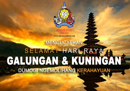Galungan And Kuningan Day, 05-15 April 2017