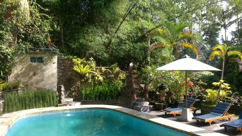 Nestled within lush Balinese gardens, Ketut's Place boasts an outdoor  pool and cosy rooms wit