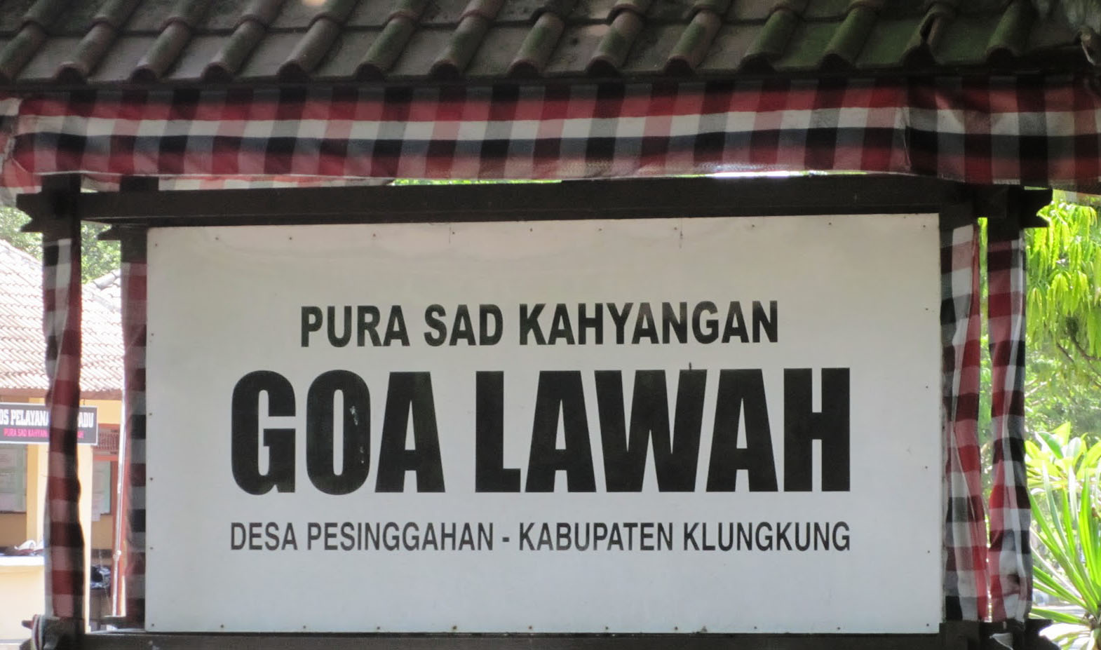 A temple and bat cave in one; Goa Lawah is one of Bali's key nine directional temples. It se