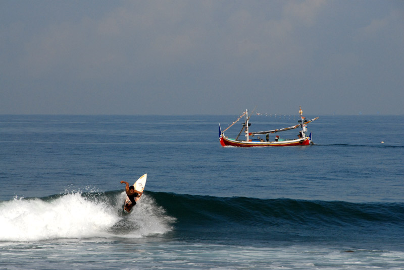 Medewi and Balian are the two beaches on the west coast that are primarily known best for their su