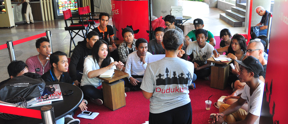 Indonesia's only international film festival that was created in 2007 by the non-profit Bali T