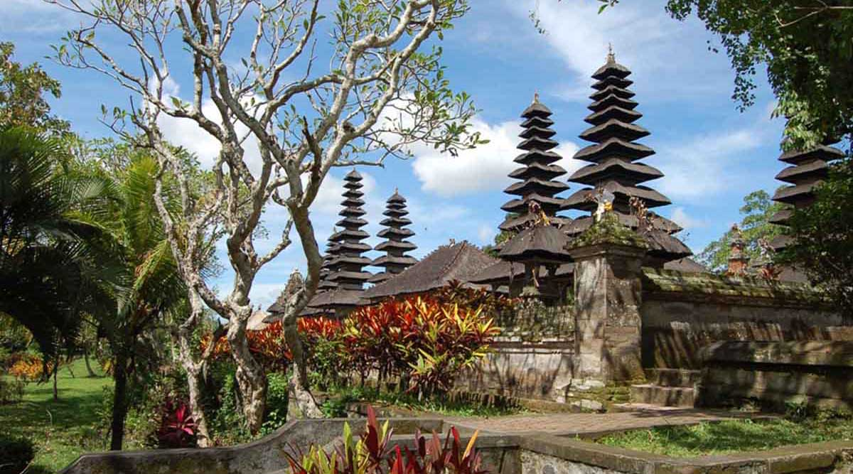 """Pura Taman Ayun ""is the Balinese name for ""The Royal Temple of Mengwi "" whi"