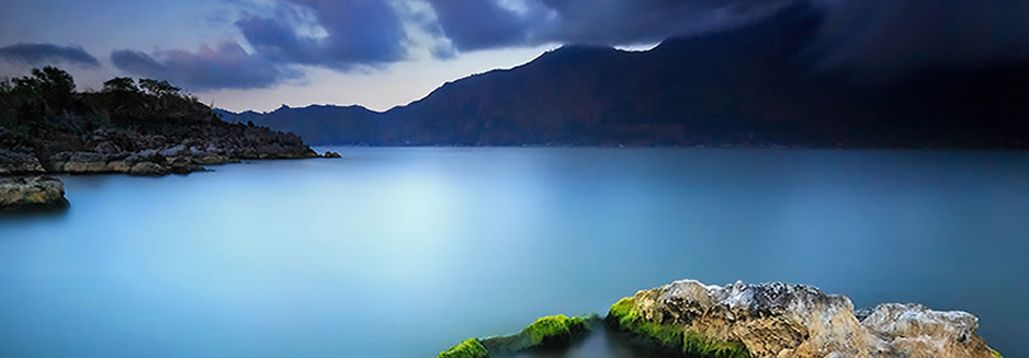 There are two routes to reach the summit of the holy volcano Gunung Batur that is accessible to anyo