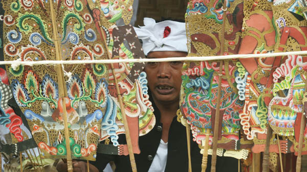 Tumpek Wayang is special day devoted to Sang Hyang Iswara, the Lord of Puppeteers, when blessing cer