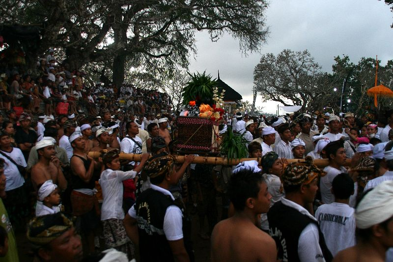 Celebrated every 210 days in sync with Kuningan, the ancient ritual of Perang Jempana (Sacred Battle