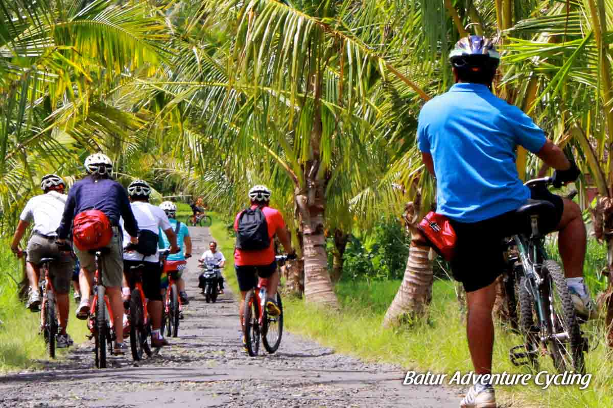 Book One Day Before !!!Pick Up (Ubud, Sanur, Kuta, Nusa Dua/Jimbaran)Min 2 Pax  Escape from the tourist center to Kintamani cooler climates of Bali Mountain region. Using mountain bikes and safety equ