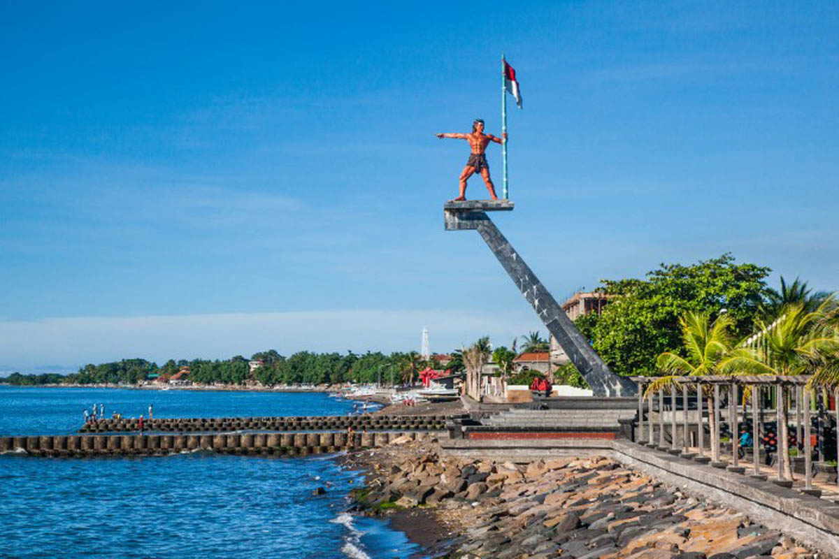 Located on Bali's north coast in historic Buleleng Harbor that was once a major seaport is t