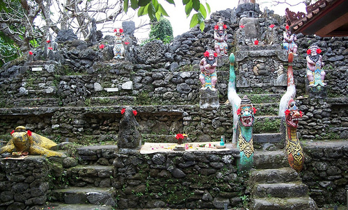 Literally meaning 'Sea Temple,' this is one of many small puras made from coral and bl