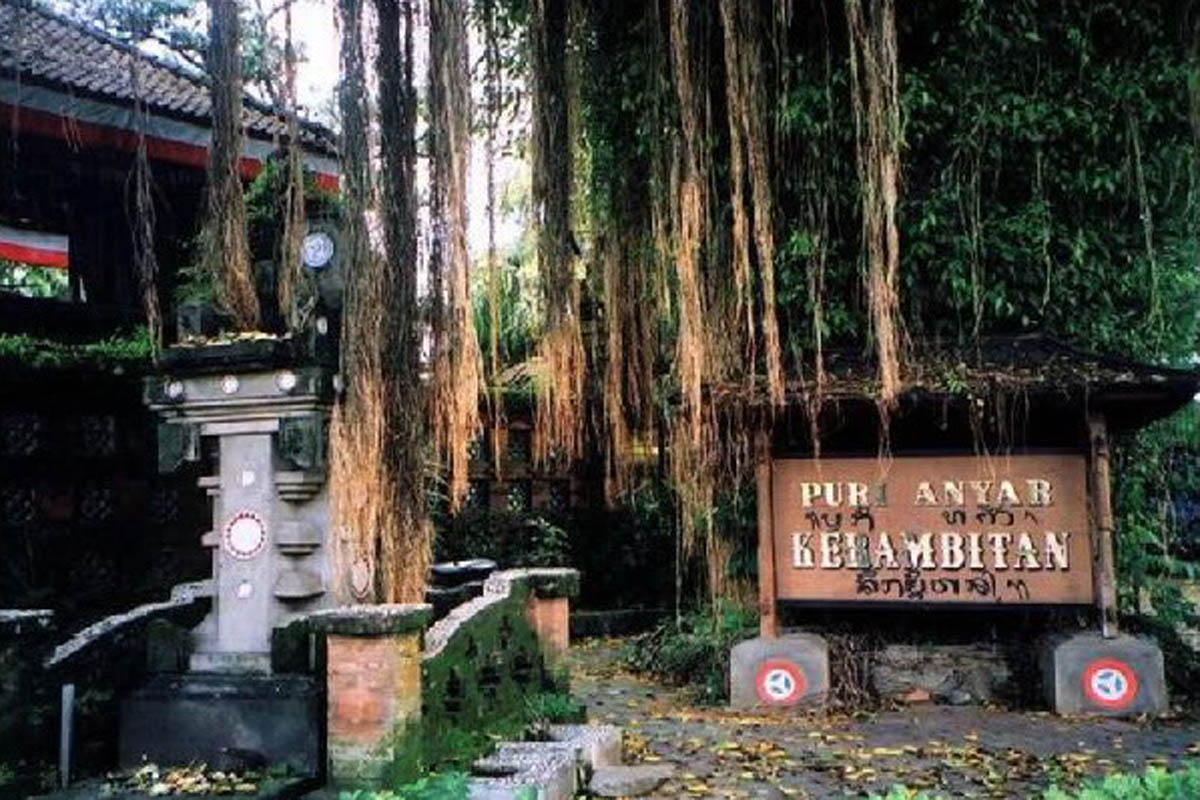 Located in the village of Kerambitan that has historical significance as the seat of an old branch