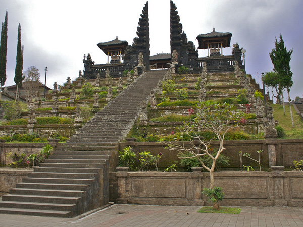 "As writer Miguel Covarrubias penned in his 1937 book Island of Bali, ""Besakih is Bali's"