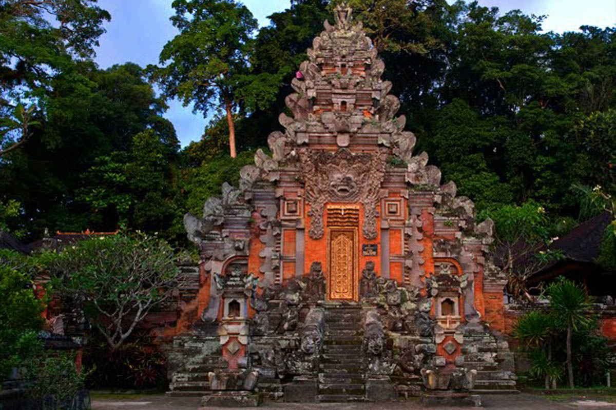 The temple Pura Bukit Dharma is located on top of the hill, Kutri in Hurry village, which is about f
