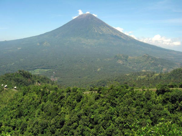 From its majestic summit one can see all of Bali and beyond in all 360 degrees of glory. It's the on