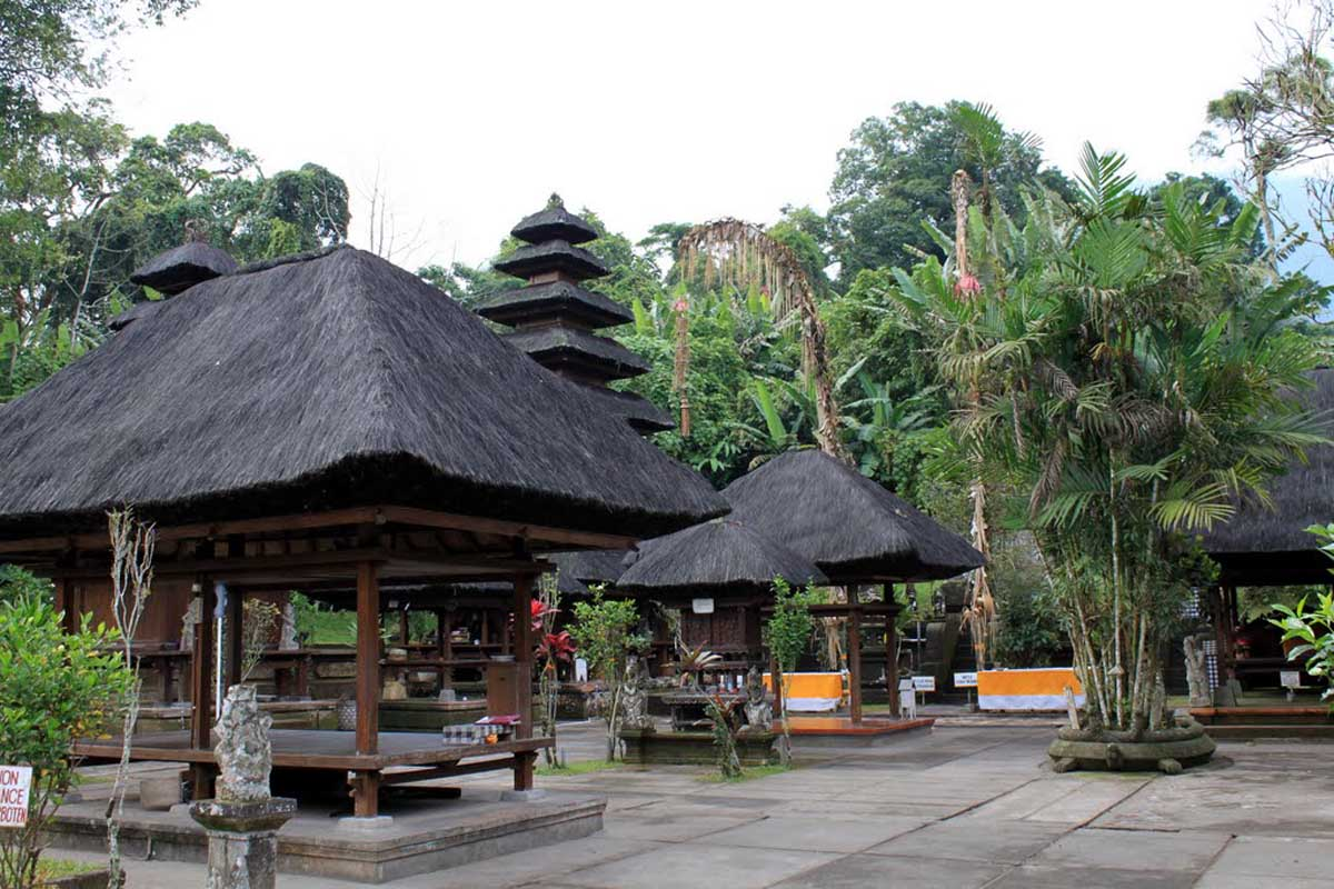 Set on the verdant southern slopes of Bali's second tallest peak known as Coconut Shell Moun