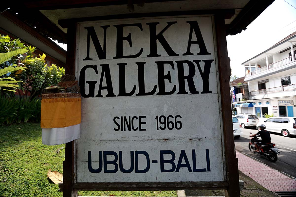 Mr. Suteja Neka, an art connoisseur and his wife, Mrs. Srimin Suteja in Ubud, built Neka Gallery in
