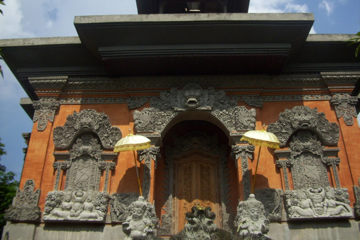 Literally translated it means a 'large place for yoga and meditation; this temple is located i
