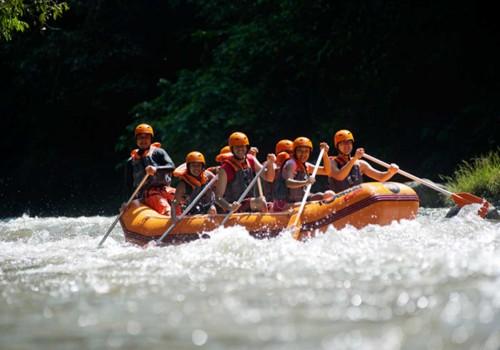 Rafting + Short Tubing Ayung River ( T )